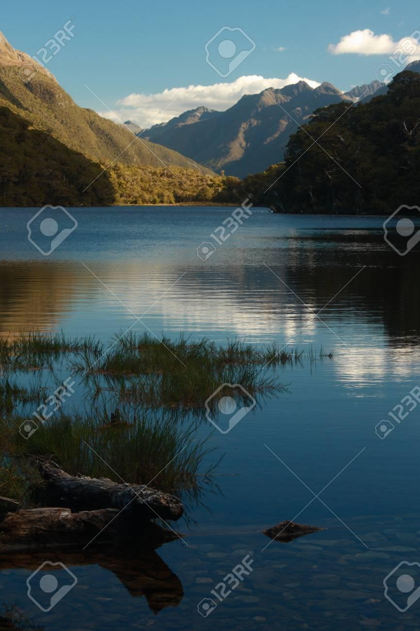lake Howden, Fiordland National Park Stock Photo - 18198231