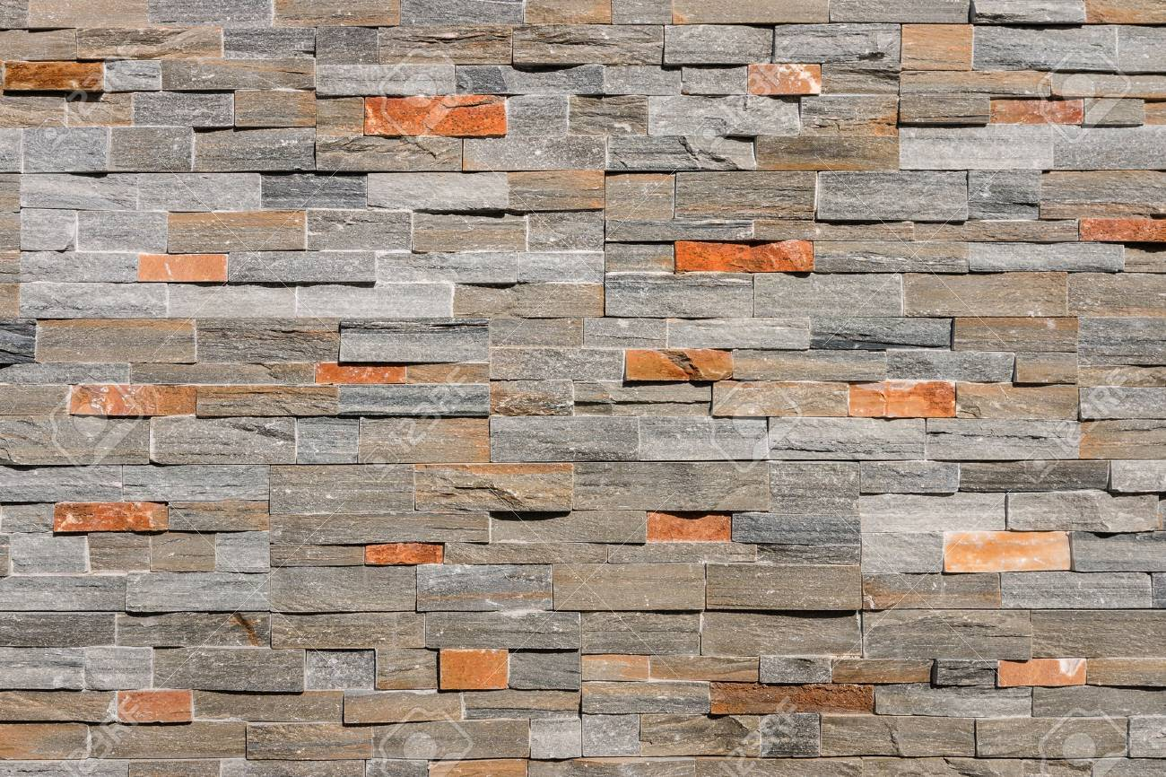 natural stone wall cladding background