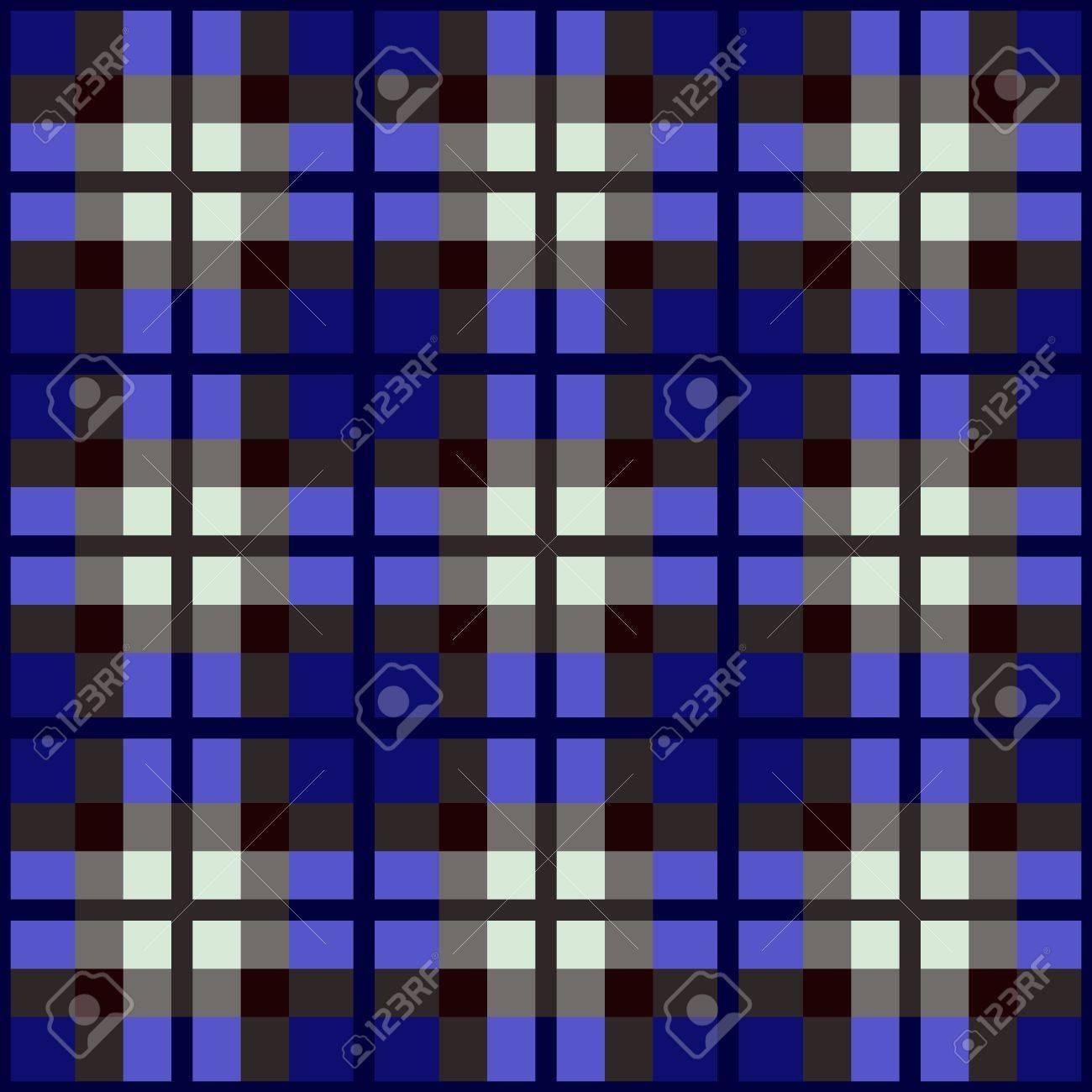 seamless fabric swatch of classic tartan Stock Vector - 14126201