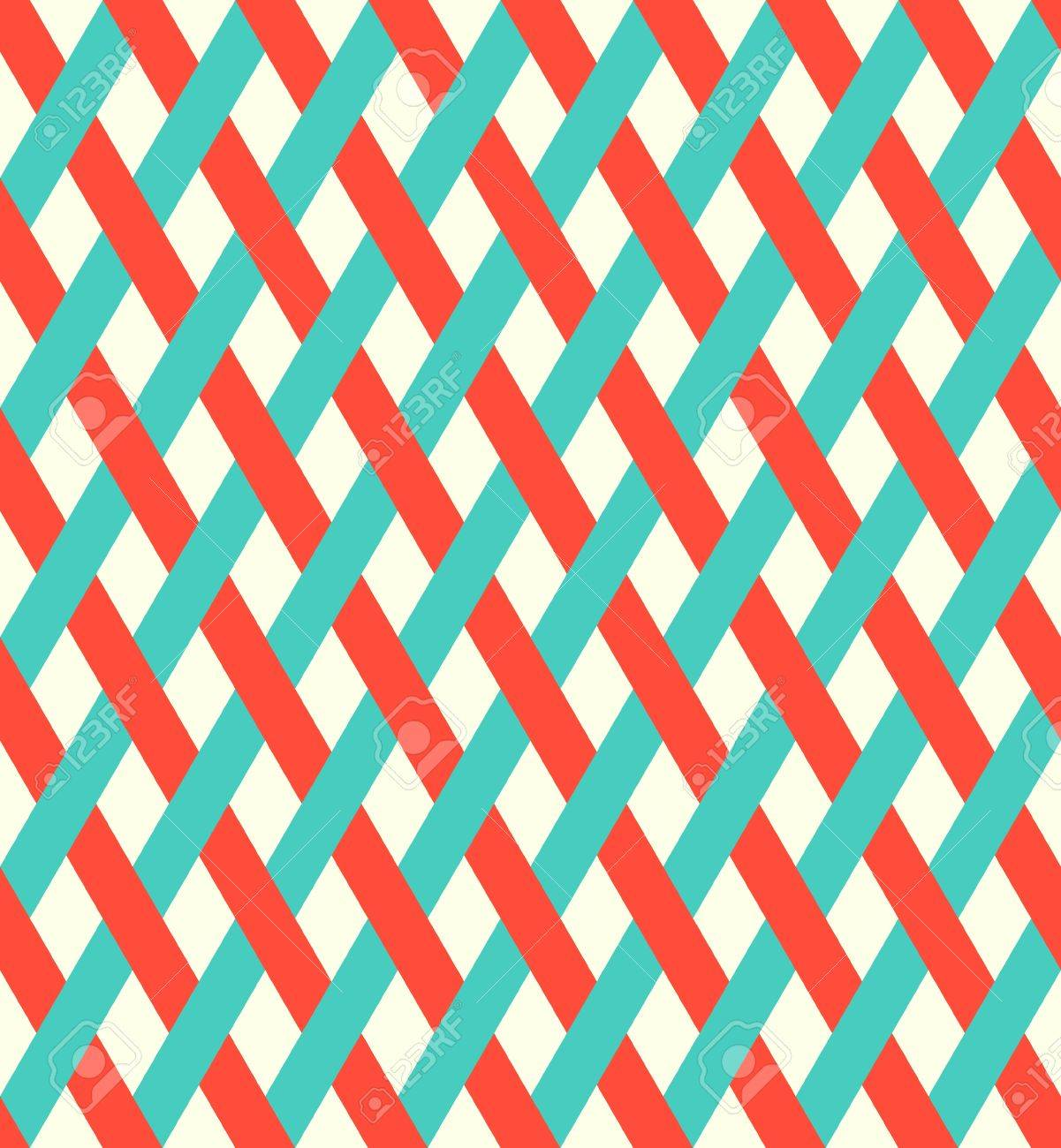 Retro seamless wicker pattern Stock Vector - 14211871