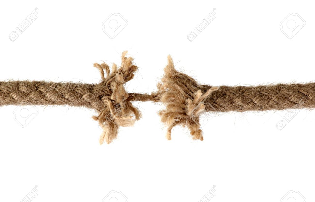 Discerped rope Stock Photo - 12291319