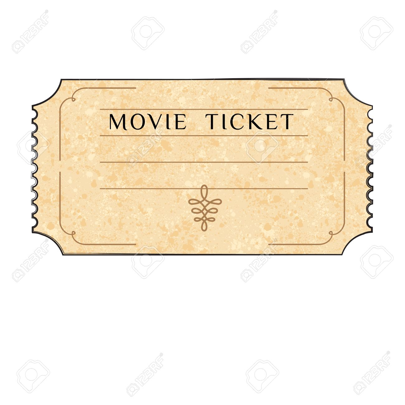 retro cinema ticket cinema banners in vintage style vector retro cinema ticket cinema banners in vintage style vector cartoon illustration drawing style