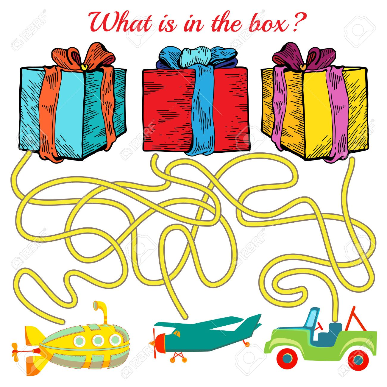 Funny Maze Game For Kids Visualor Game For Preschool Children