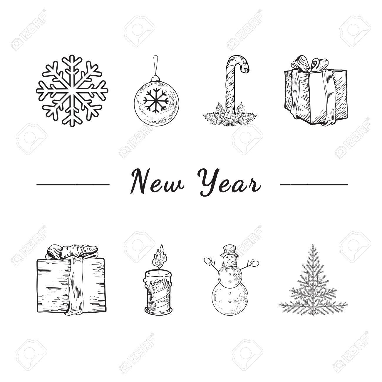 Christmas Template Flyer Celebration Concept
