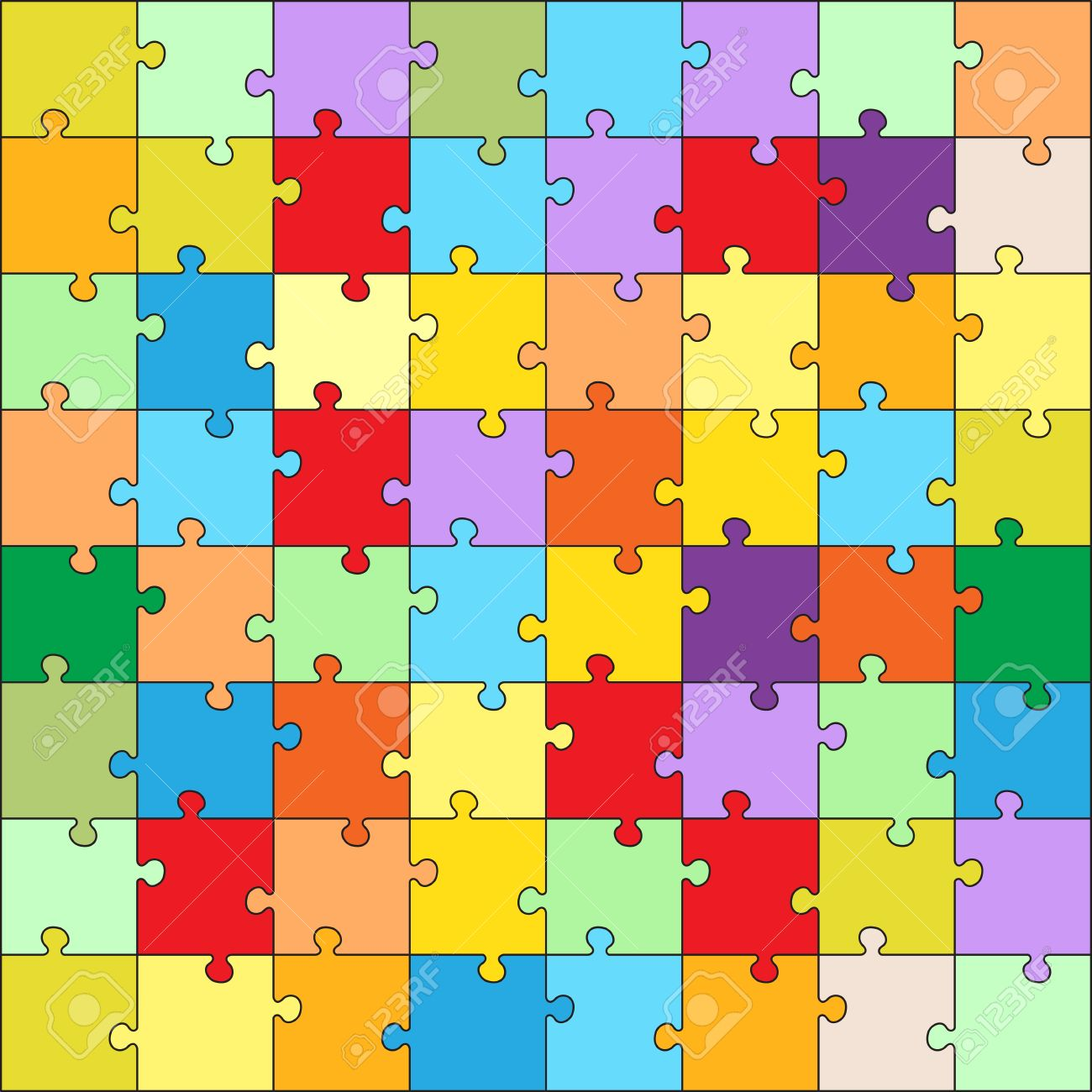 vector puzzle game for children puzzle texture jigsaw game