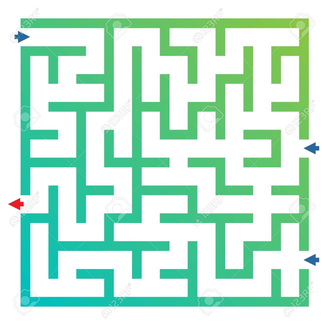 labyrinth for preschool children funny maze game for child royalty
