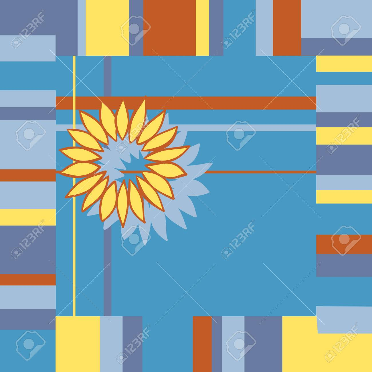 Bright abstract background illustration Stock Vector - 11433012