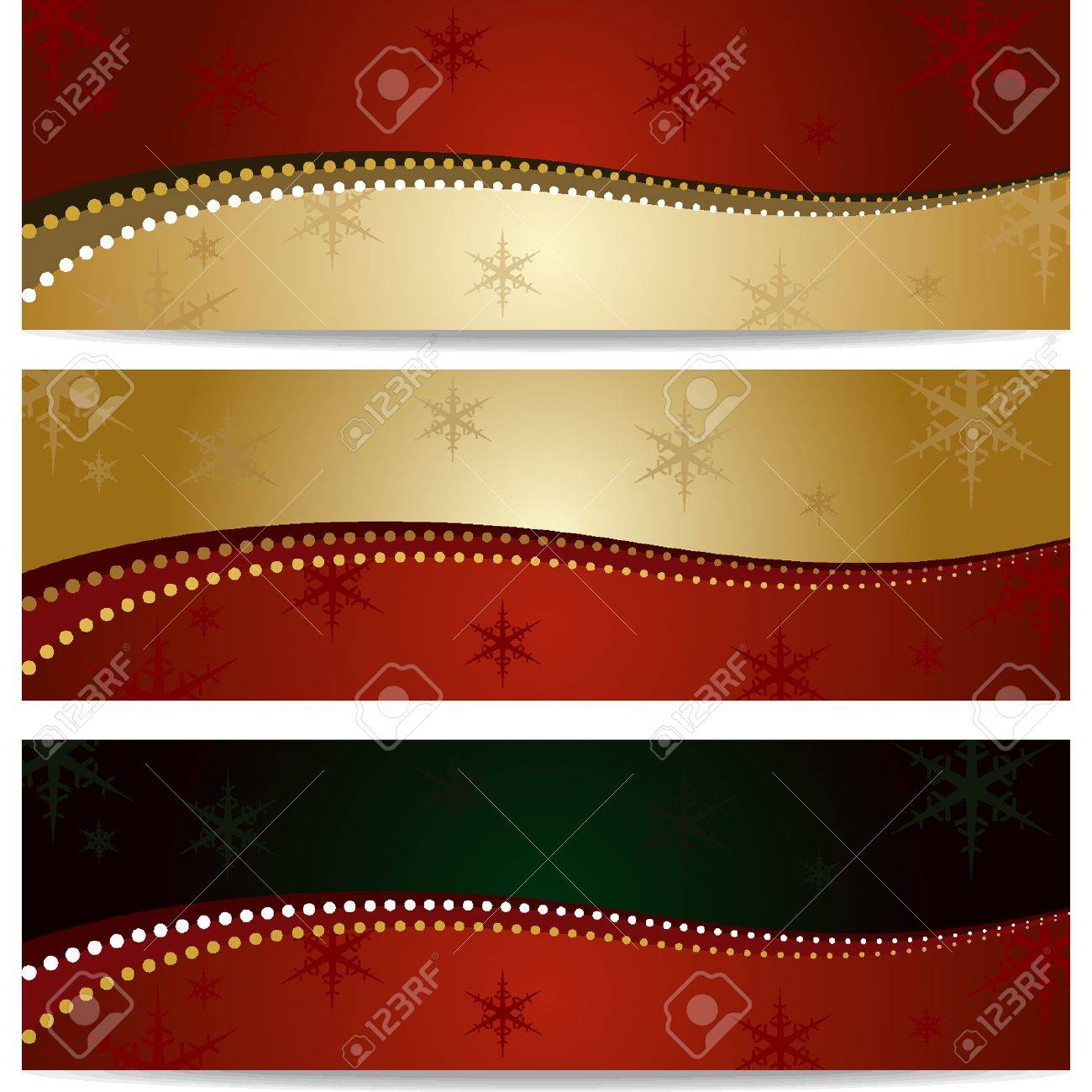 Elegant Christmas backgrounds four models Stock Vector - 18134277