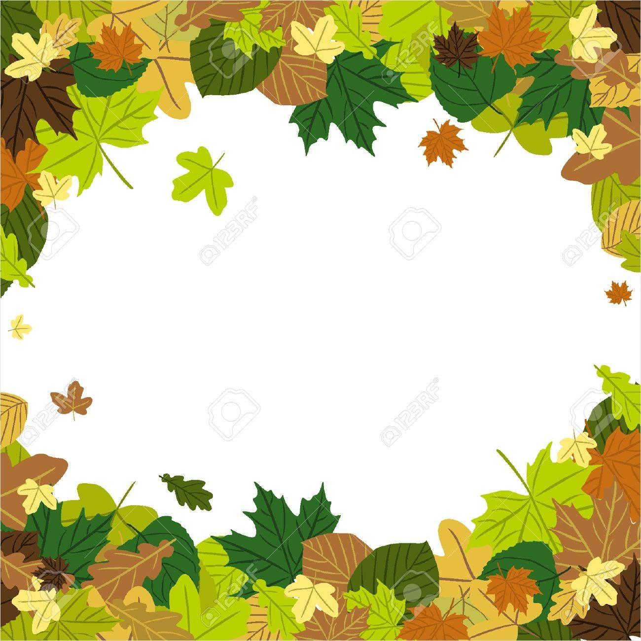Hojas de otoño en el viento Foto de archivo - 18134320