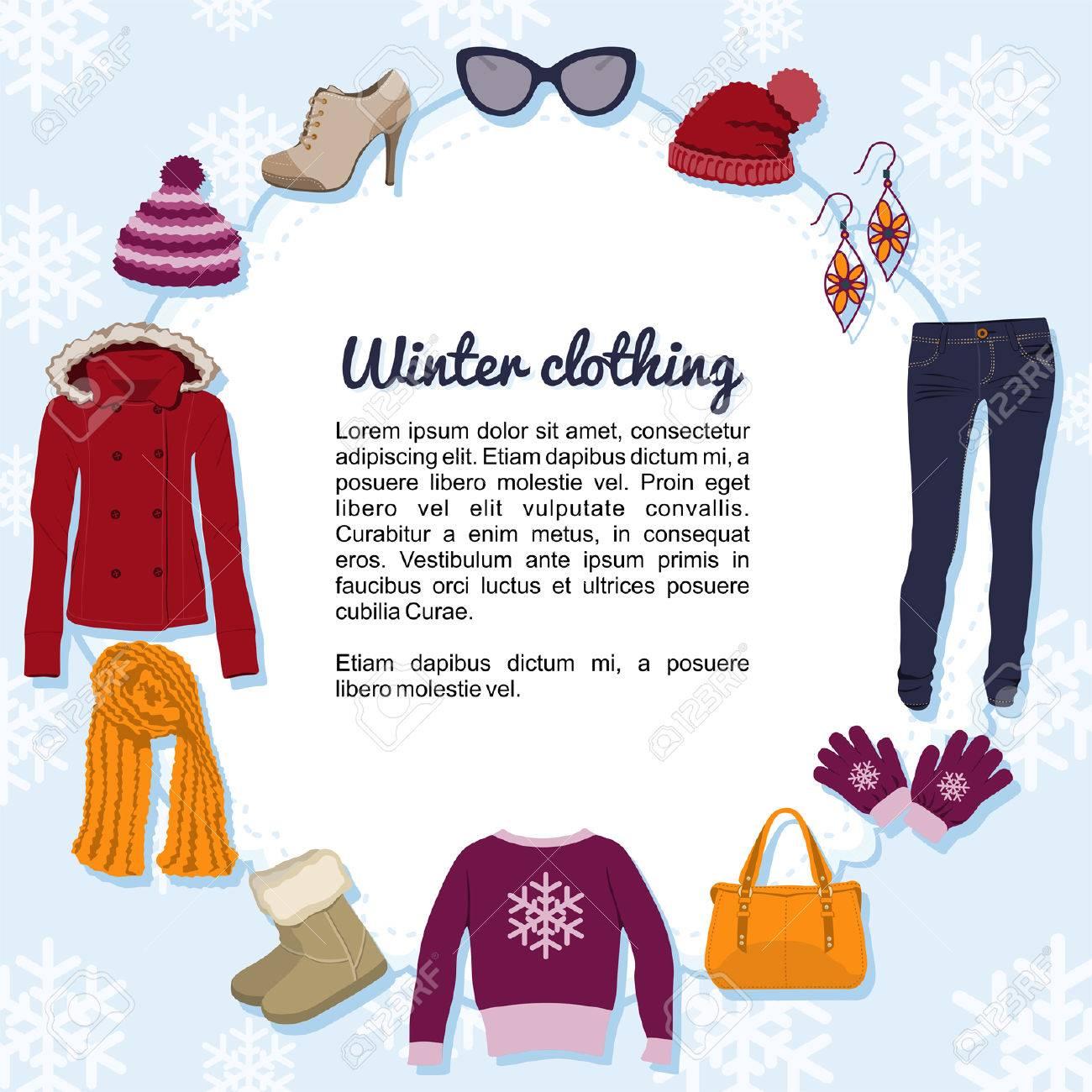 La ropa de invierno Foto de archivo - 25427361