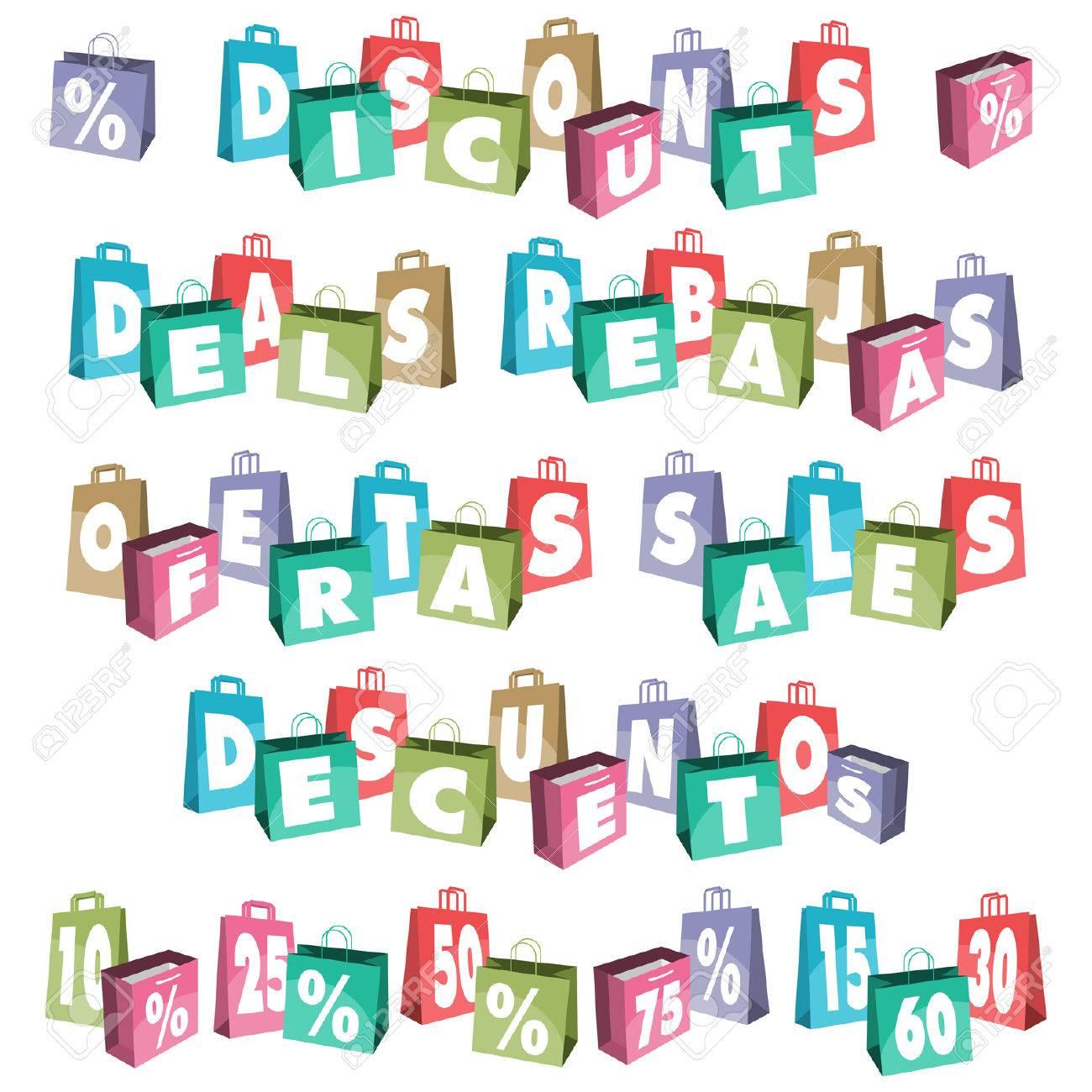 Bolsas para la venta Foto de archivo - 25427365