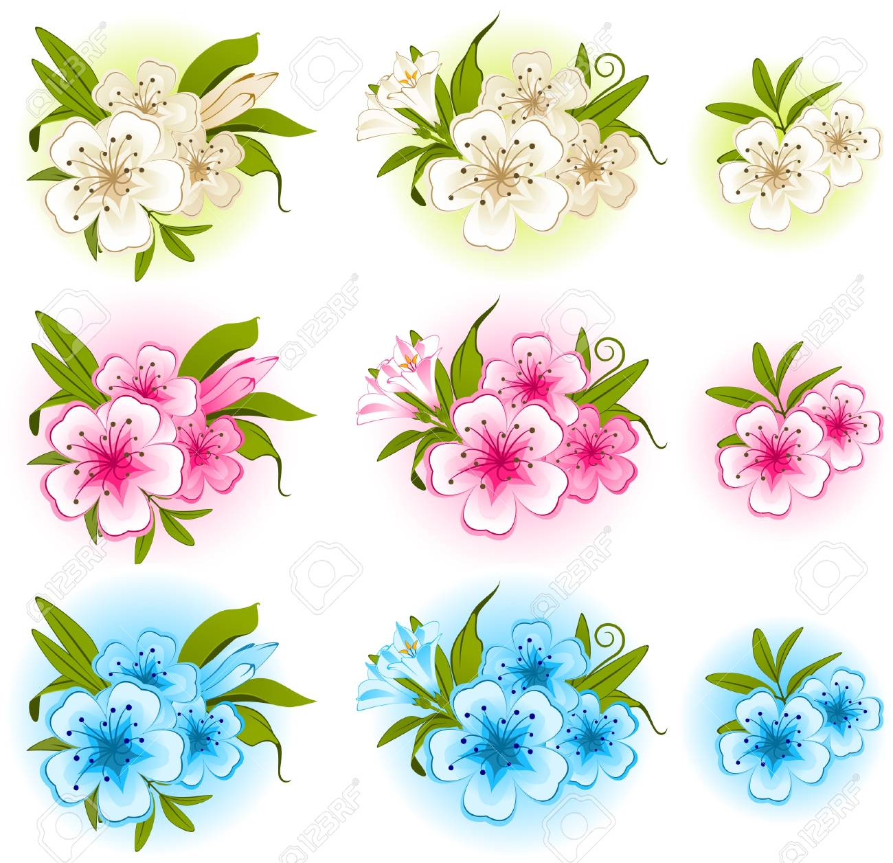 flower on background Stock Photo - 9655047