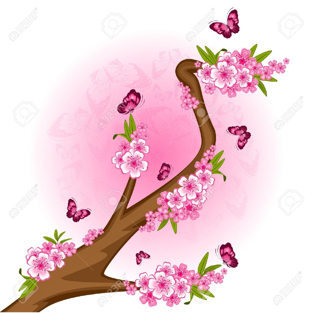 Beautiful Drawings Of Butterflies On Flowers Amazing Wallpapers
