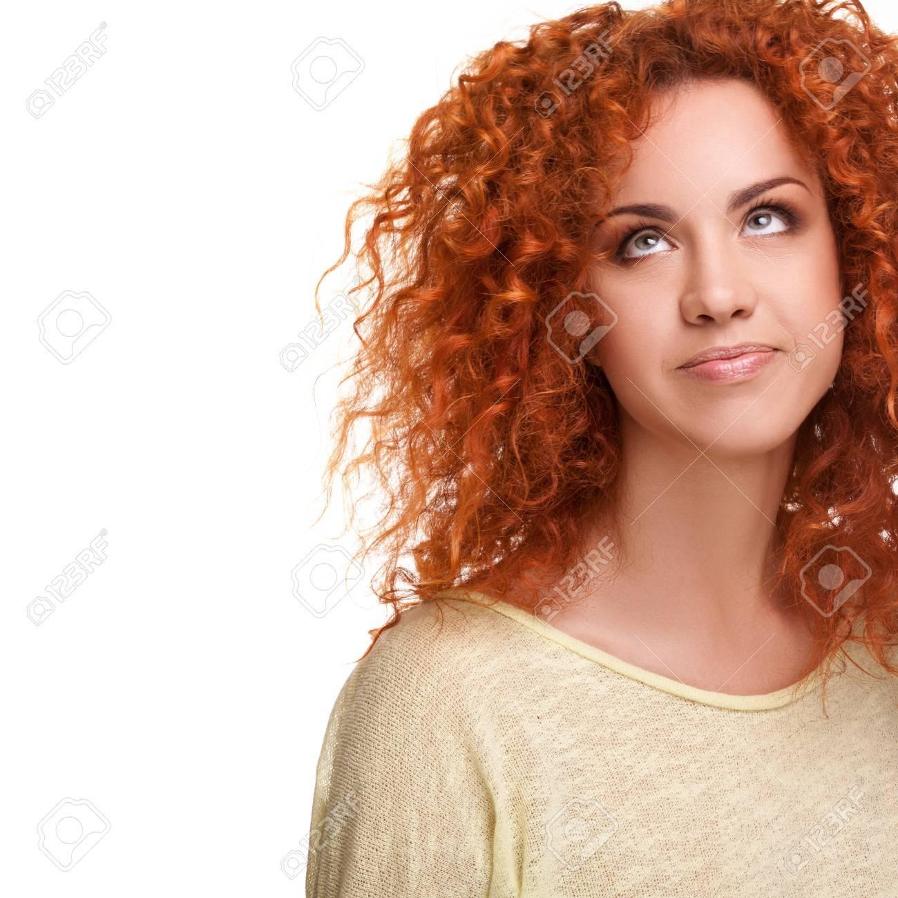 Haare frau rote Rote Haare