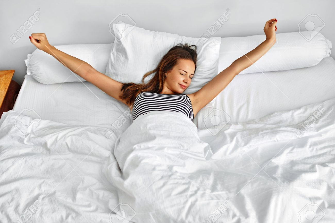 Image result for woman waking up