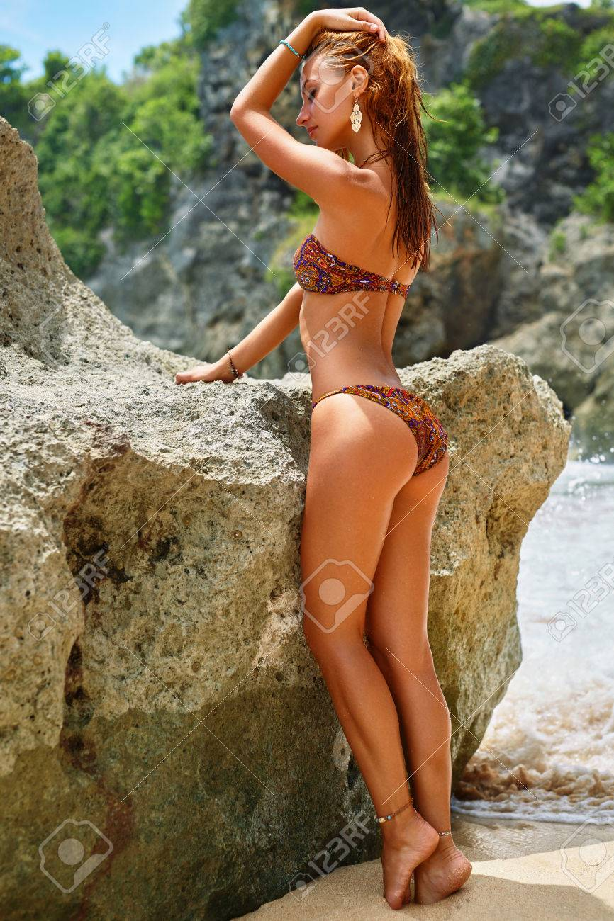 Bikini healthy butt