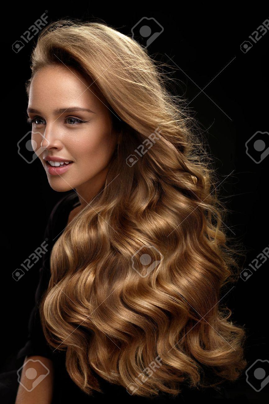 Couleur de cheveux wavy