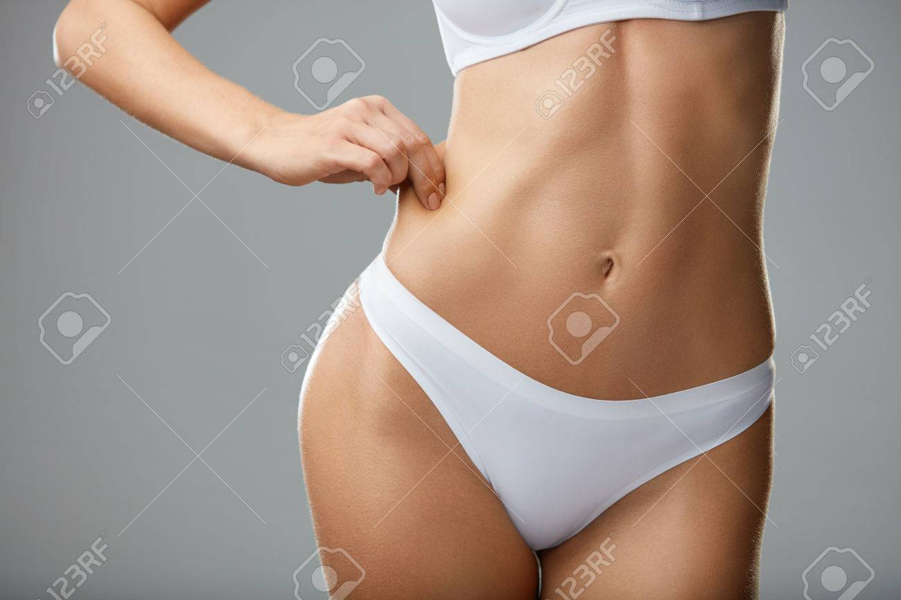Weight Loss Concept Closeup Of Beautiful Young Woman S Body Stock Photo Picture And Royalty Free Image Image 76263690