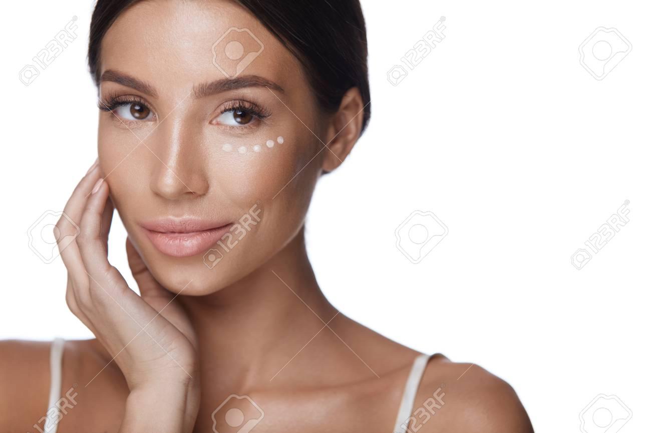 White girl facial