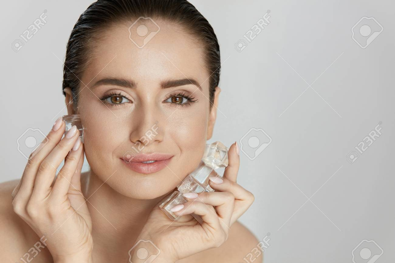 Girls and facial skin care