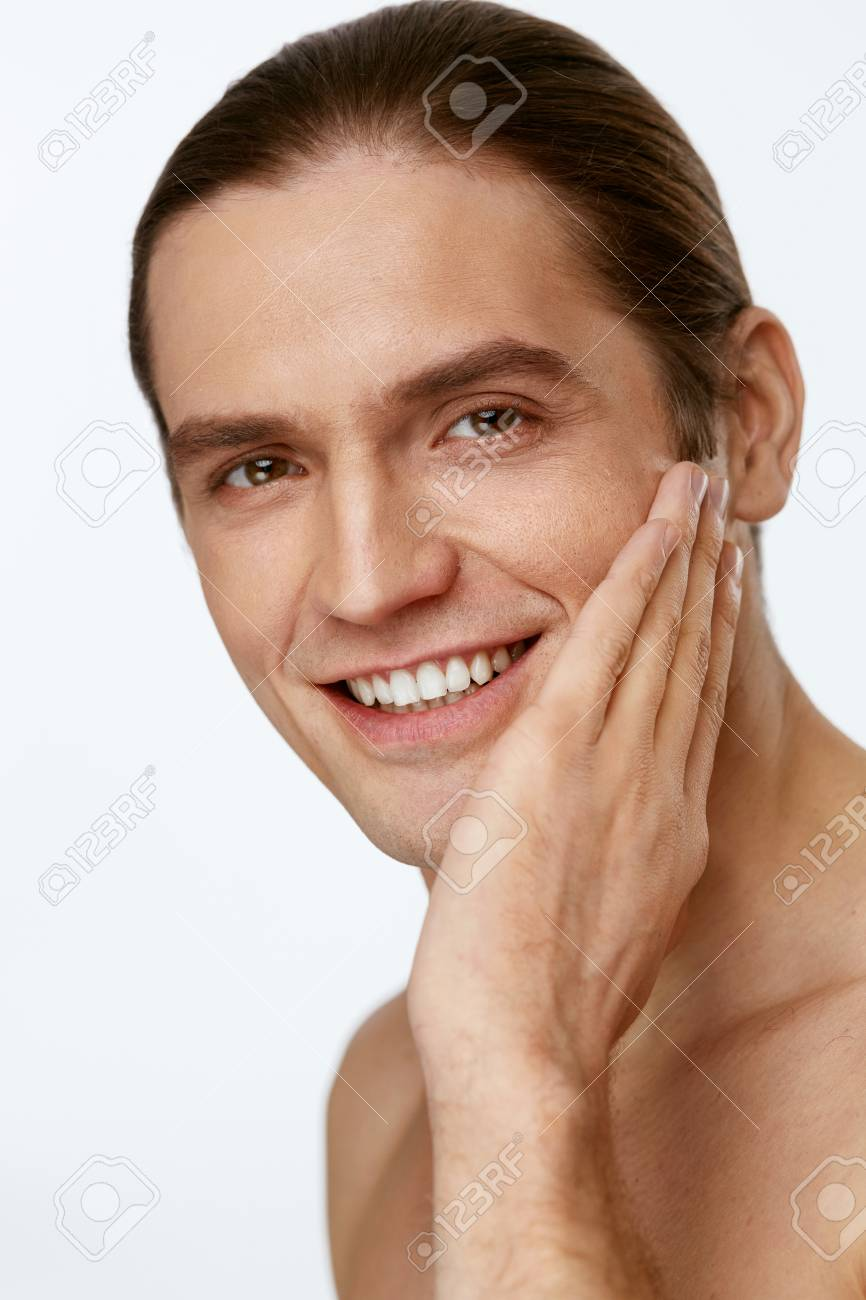 male smooth skin