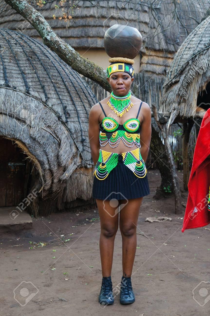 Africa village girl #15