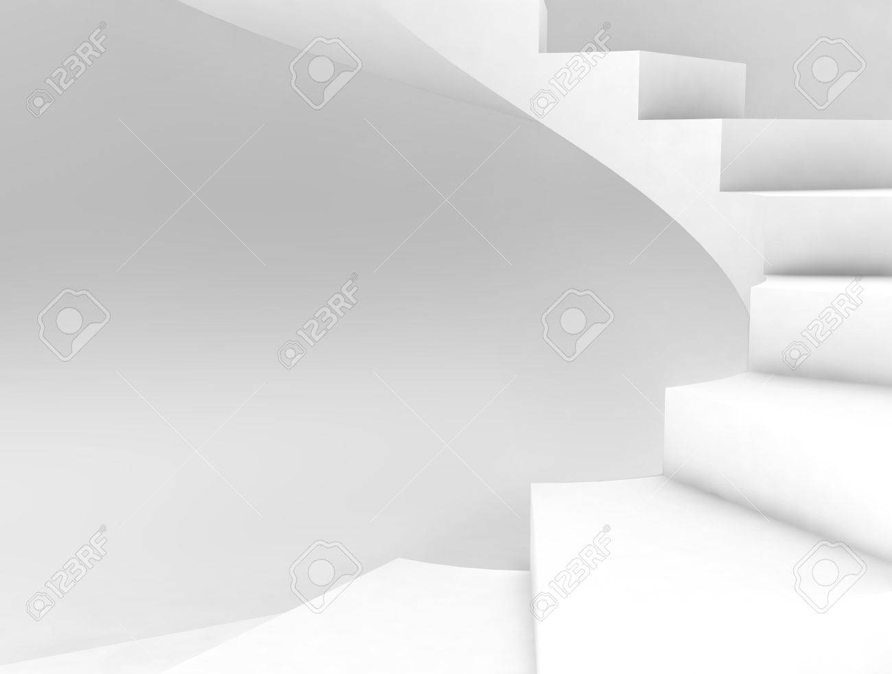 spiral stairs background Stock Photo - 4187645