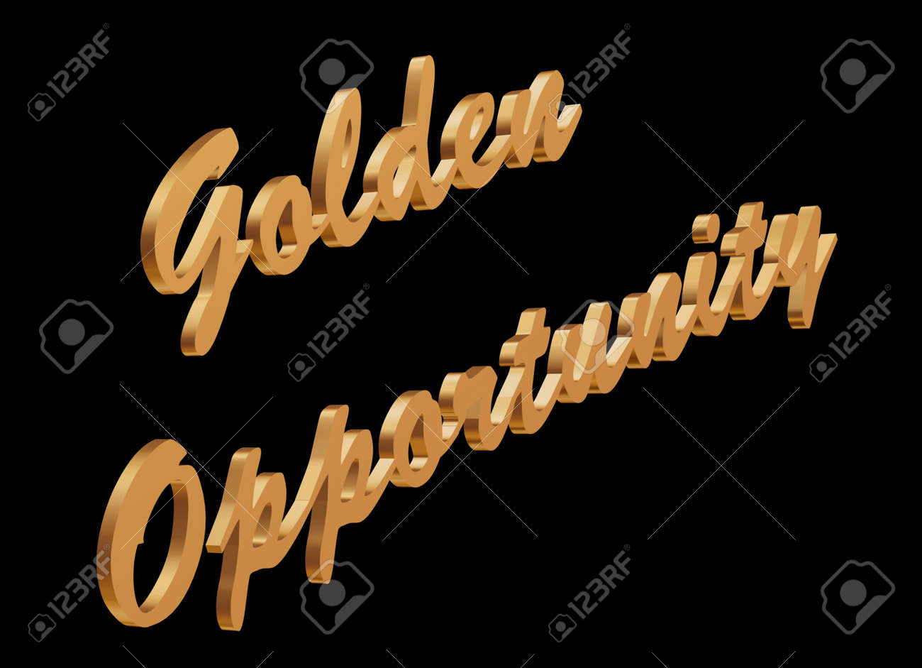 Golden opportunity what everyone is looking for