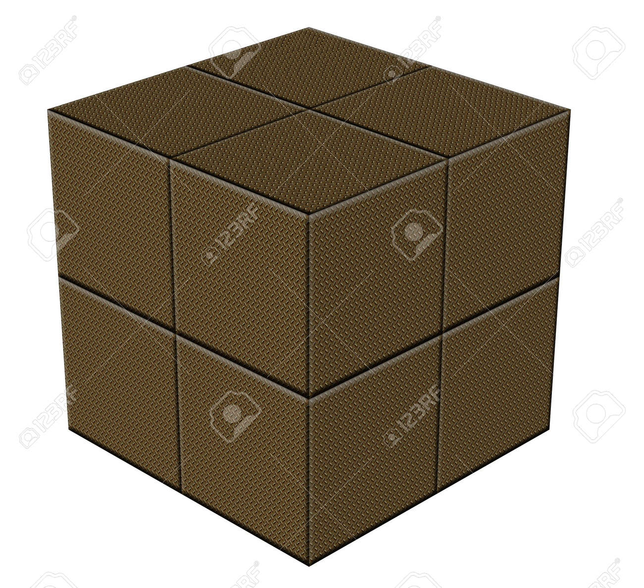 new product new high cheaper Gold plated security boxes for very expensive items