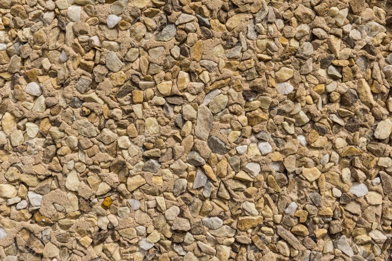 Steinmauer Wandverkleidung detail der wandverkleidung mit kleinen stücken von verschiedenen