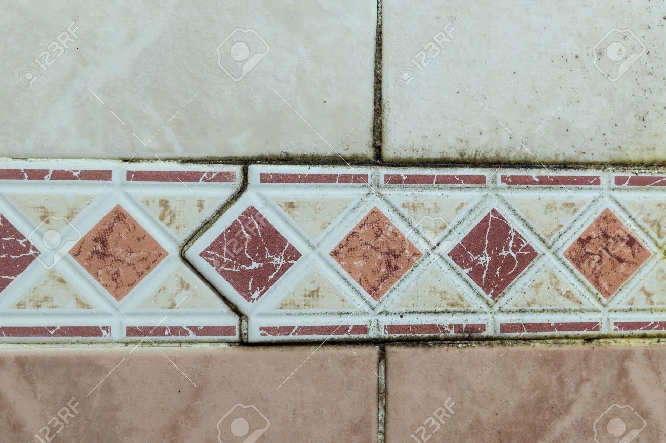 Schwarzer Schimmel Pilz In Feuchten Schlecht Belufteten Badbereich