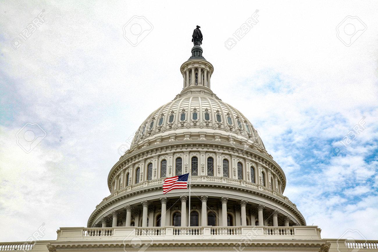 United States Capitol Building in Washington DC,USA.United States Congress. - 165249548