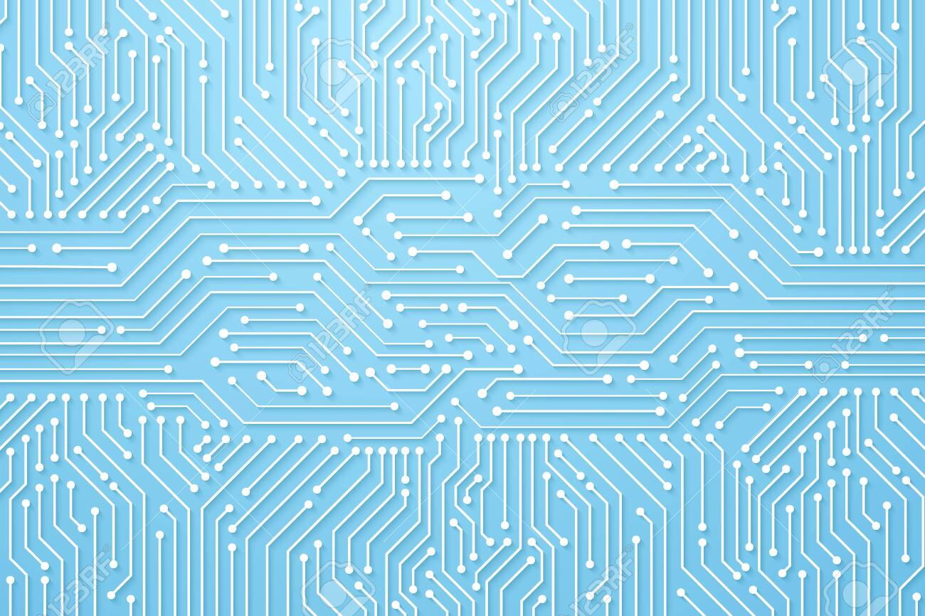 Abstract Technology Background, circuit board pattern - 152858864