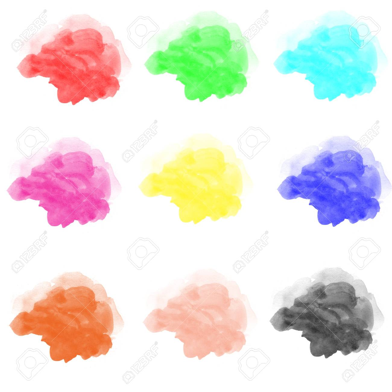 abstract watercolor on white background Stock Photo - 14326030