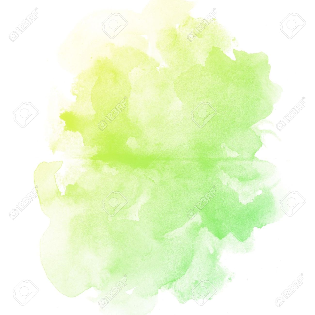 Abstract Watercolor Art Hand Paint On White Background Stock Photo ...