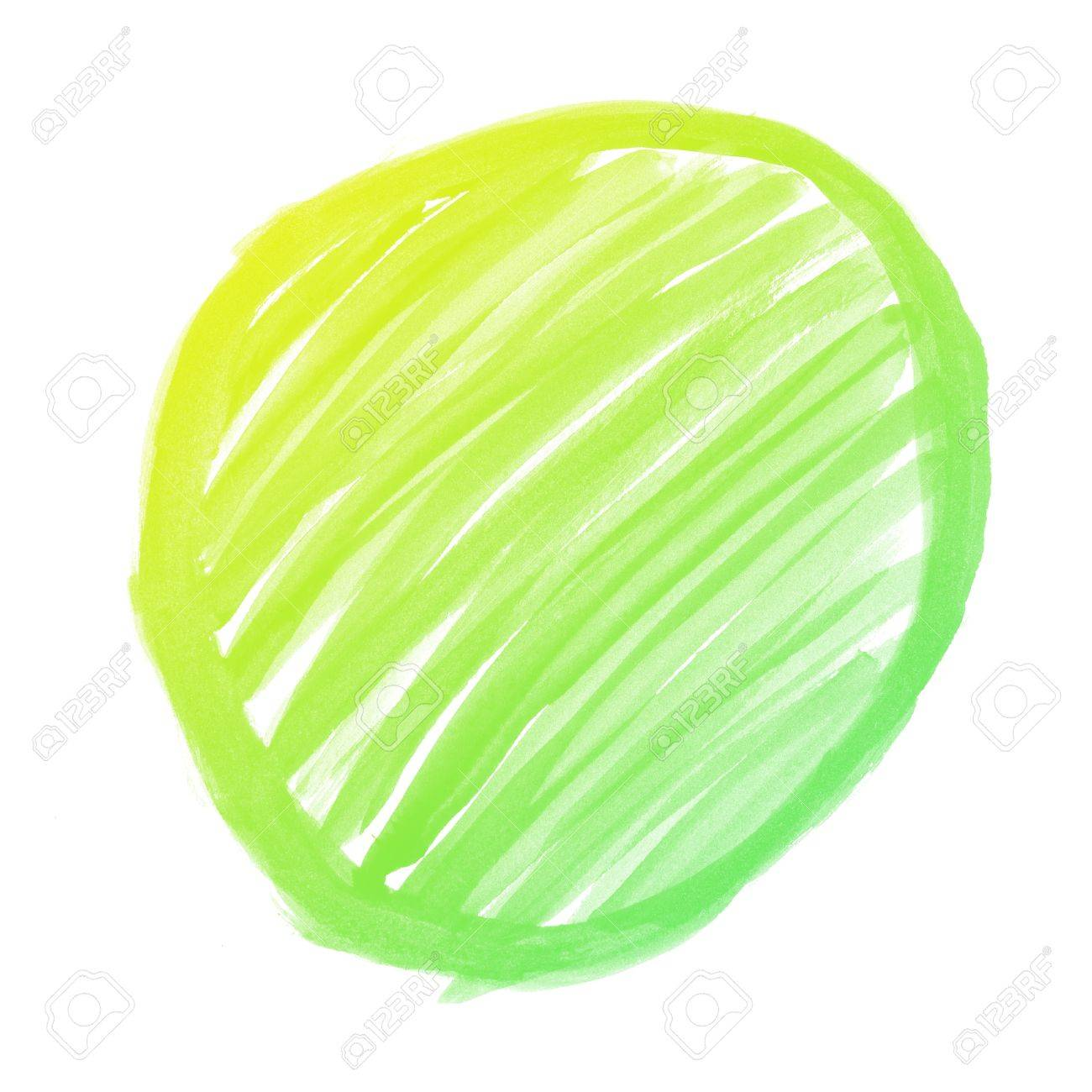 colorful Abstract circle water color art hand paint background Stock Photo - 16740450