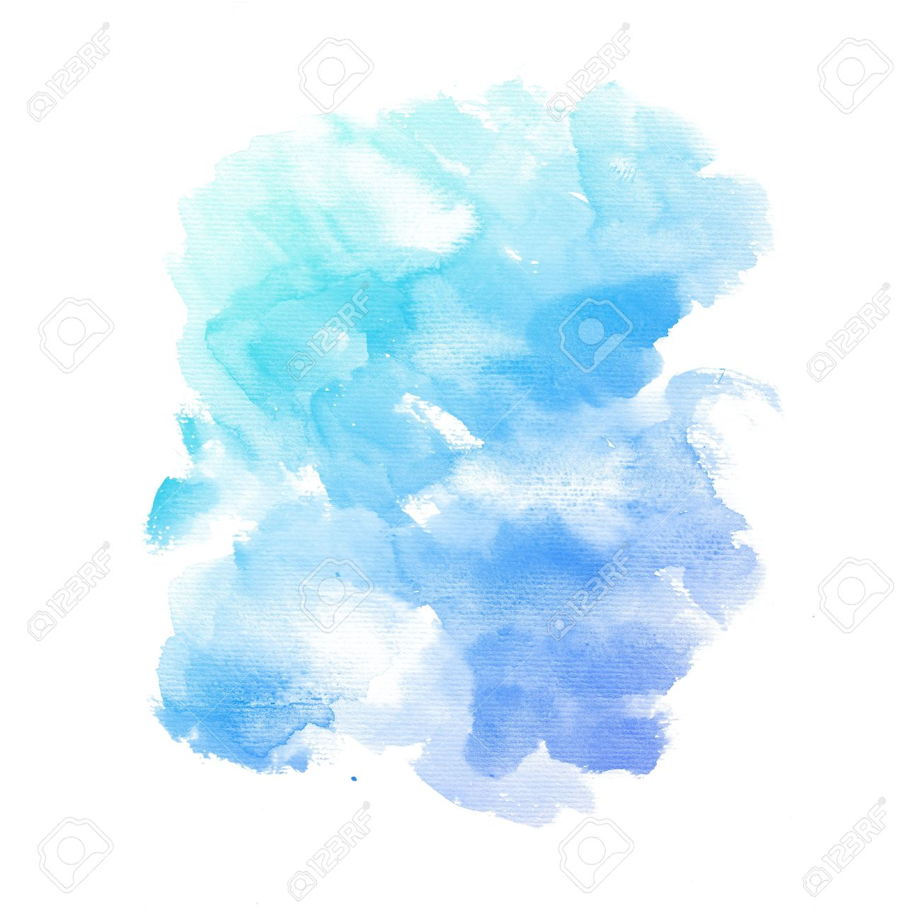 Watercolor background  colorful Abstract water color art hand paint Stock Photo - 20136400