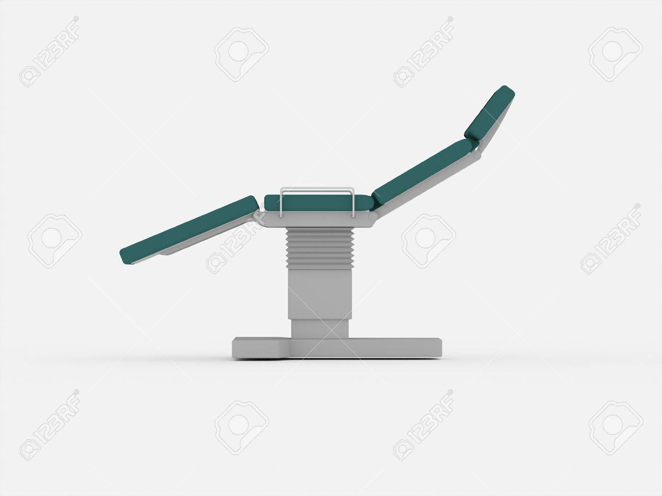 Stomatology medical chair isolated on white background Stock Photo - 21804904