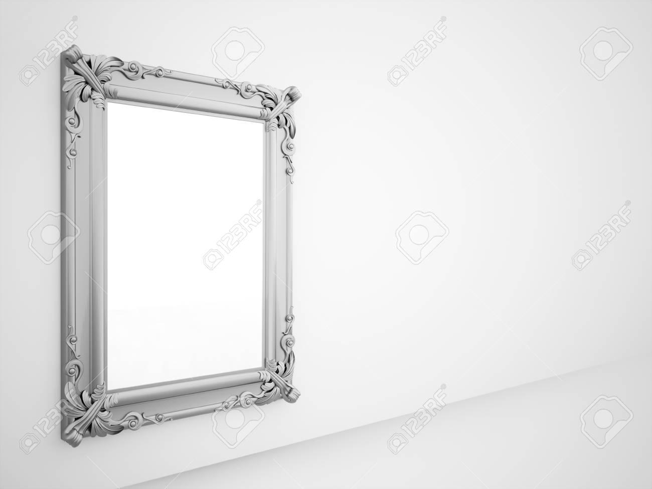 Espejo Con Marco De Plata De época Prestados Fotos, Retratos ...