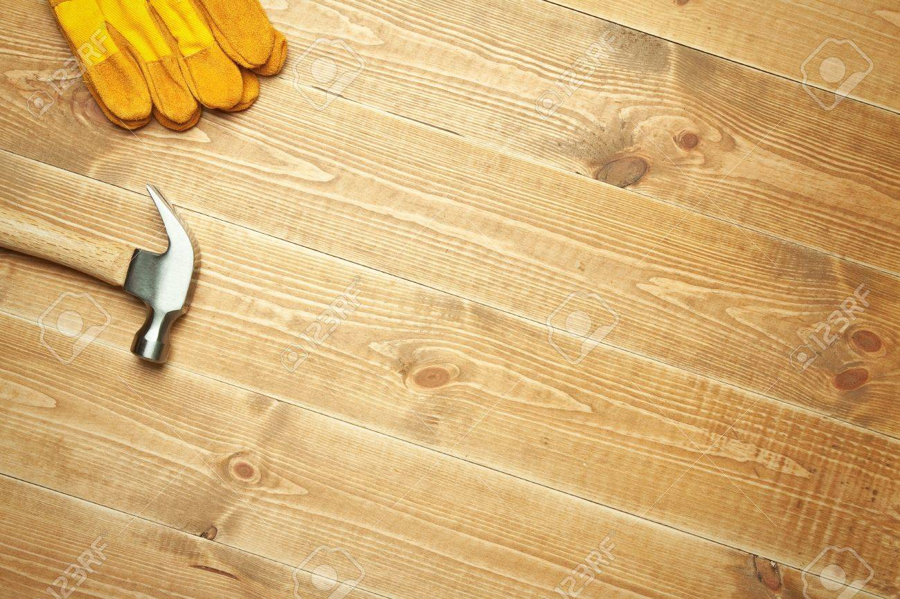 Different tools on a wooden background. Stock Photo - 10628543