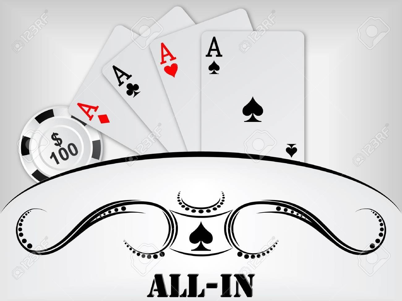poker background Stock Vector - 11480668