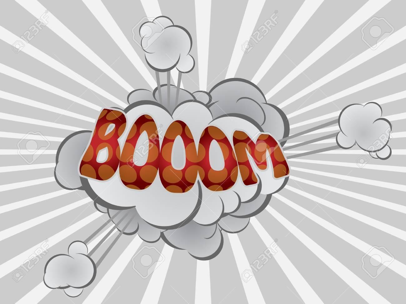cartoon explosion Stock Vector - 11480588