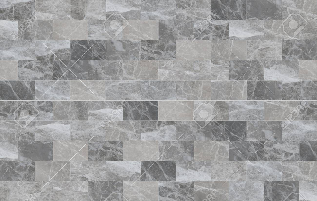 Grey Marble Mosaic Tiles Texture Background Rectangle Marble Stock Photo Picture And Royalty Free Image Image 117263386