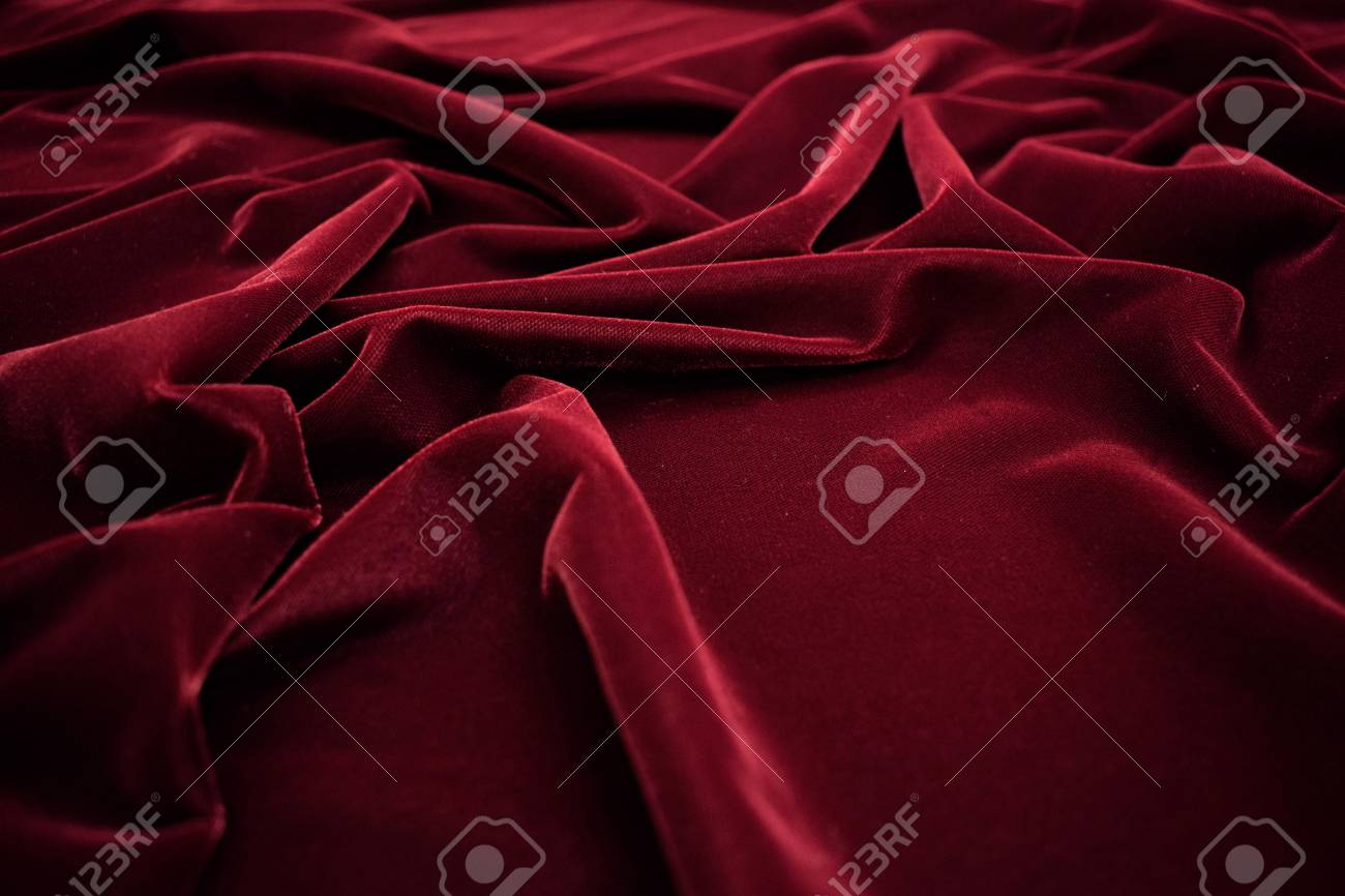 Dark Red Velvet Fabric Texture Background Stock Photo Picture And Royalty Free Image Image 119566620