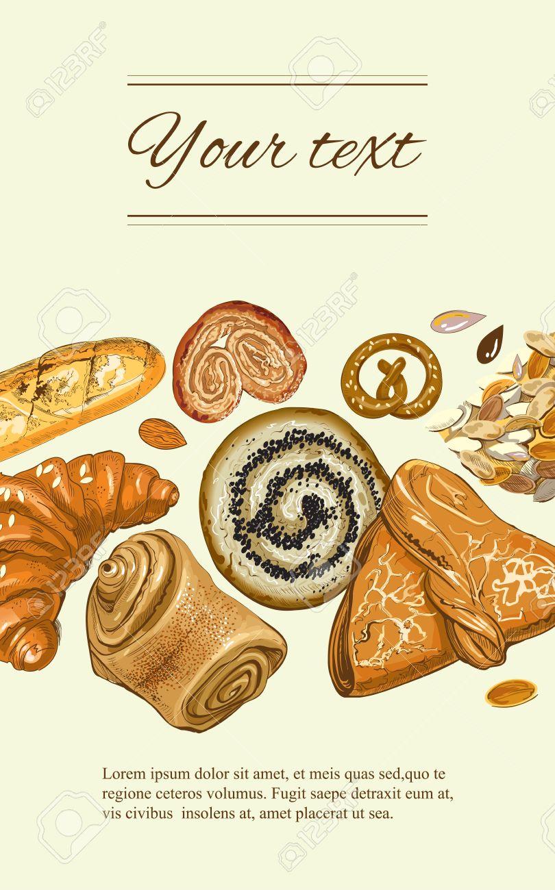 Boulangerie Banniere Verticale Design For Epicerie Boulangerie Menu Dessert Patisserie Livre De Recettes Manuel De Cuisson