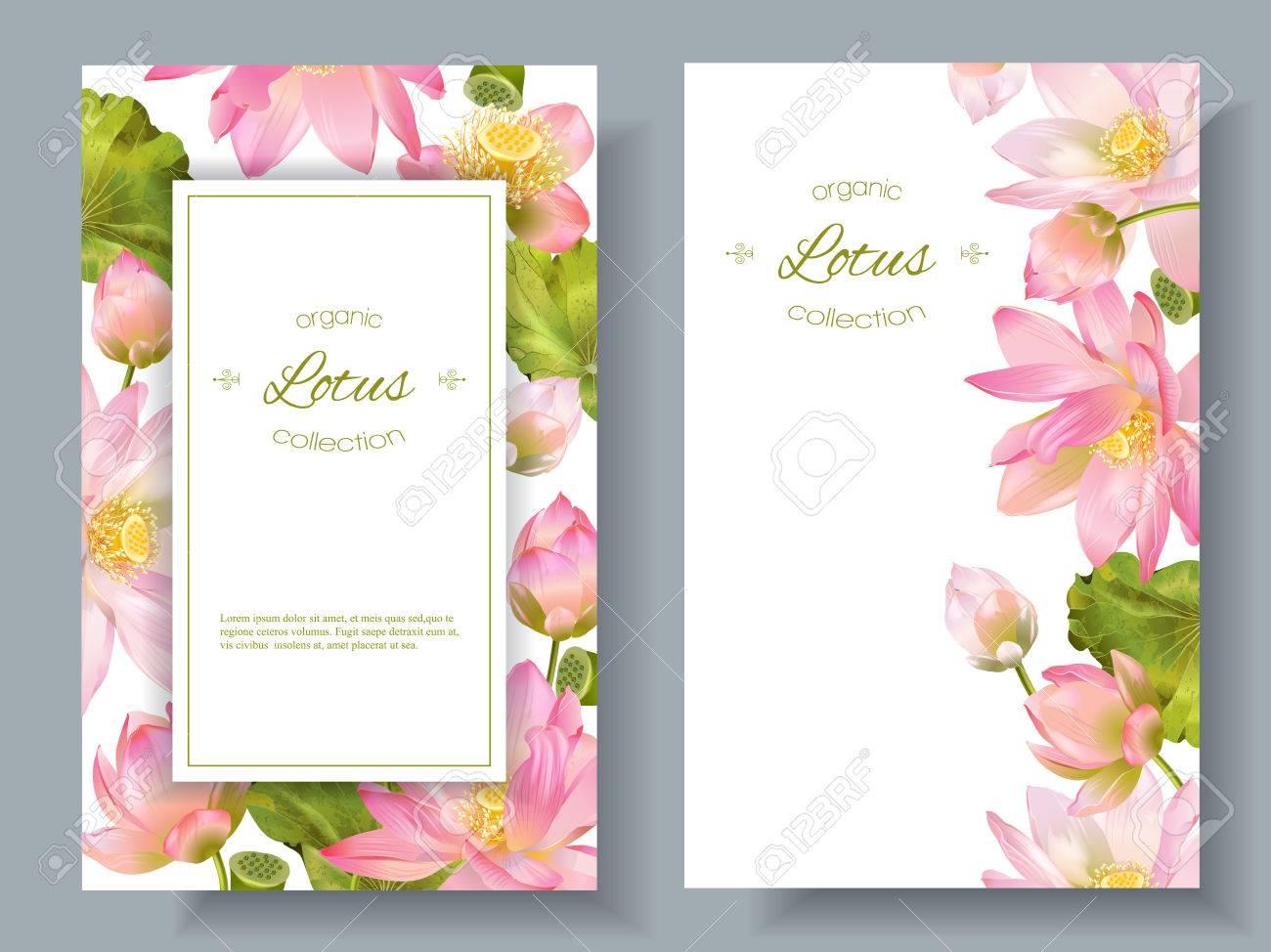 Lotus flower banners - 71027672
