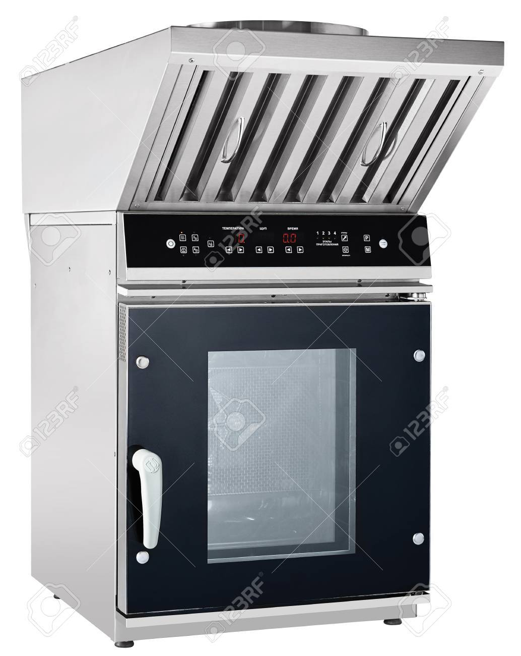 Modern Luxury Hi-tek Combi Steamer And Proofer Stock Photo, Picture ...