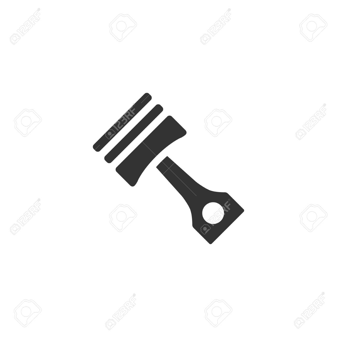 Piston Icon In Single Color Automotive Parts Motor Auto Car Royalty Free Cliparts Vectors And Stock Illustration Image 70488977