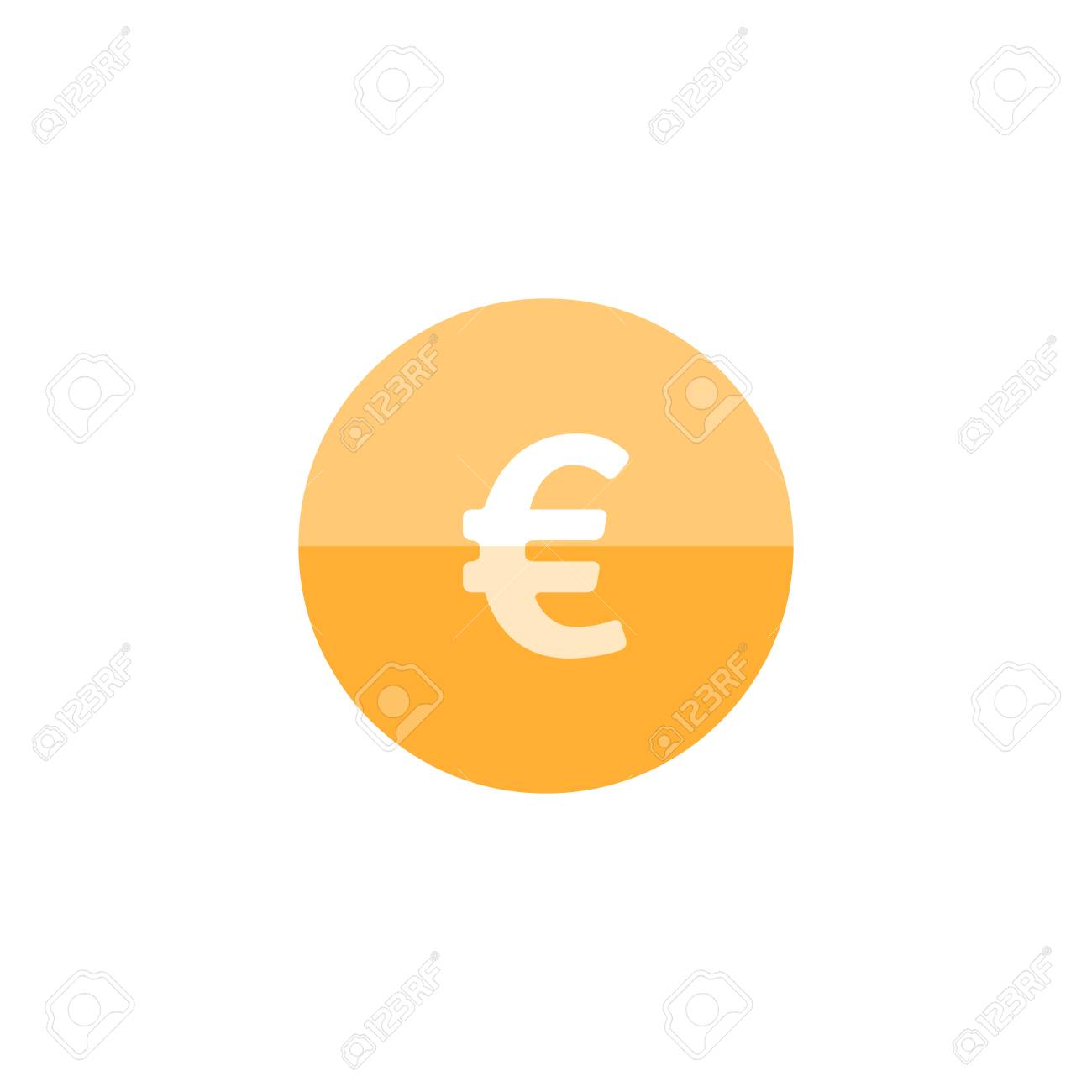 Euro currency symbol icon in flat color circle style money euro currency symbol icon in flat color circle style money market trade buycottarizona Choice Image