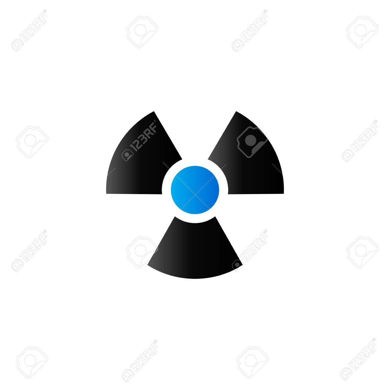 Radioactive symbol icon in duo tone color science research radioactive symbol icon in duo tone color science research nuclear energy stock vector 71631975 buycottarizona